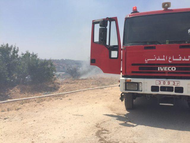 خلال يوم.. الدفاع المدني يتعامل مع 41 حادث حريق وإنقاذ
