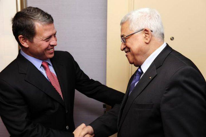 """العاهل الأردني يصل رام الله ويجتمع بالرئيس """"فيديو"""""""