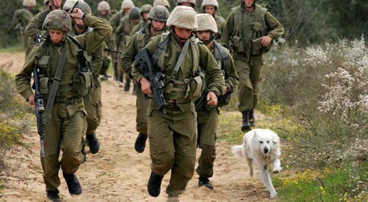الاحتلال يبدأ تدريبات عسكرية في منطقة الجليل