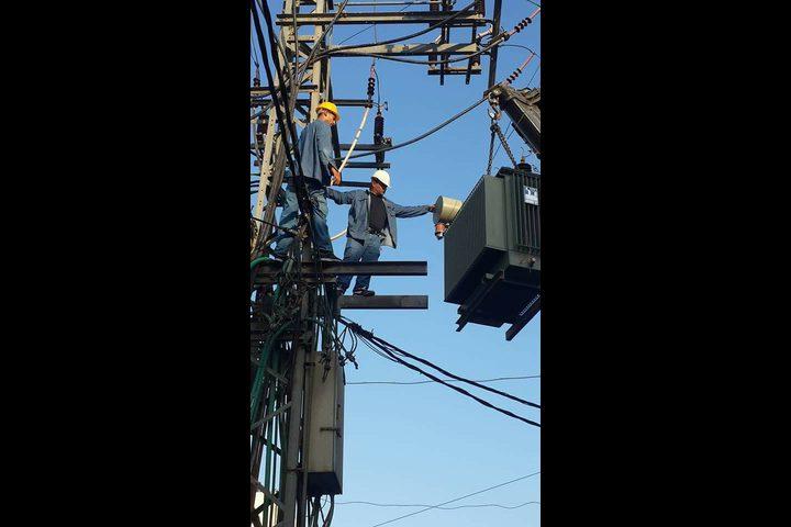 ساعات فصل التيار الكهربائي عن عدة مناطق في نابلس