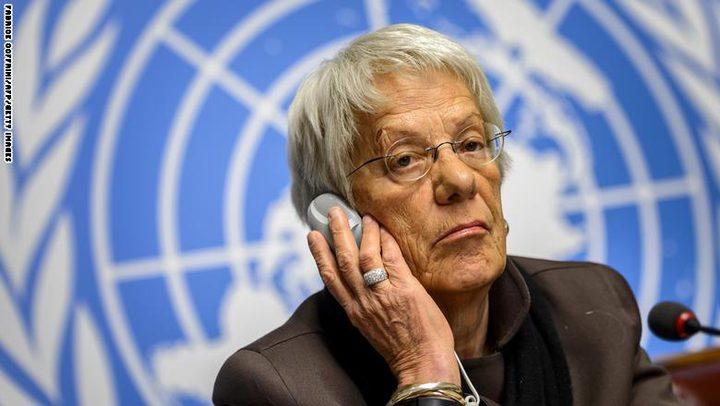 المحققة الدولية بشأن سوريا تستقيل وتلوم الأمم المتحدة