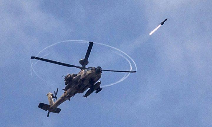مصرع طيار إسرائيلي وإصابة آخر  إثر تحطّم مروحيَّة عسكريَّة 