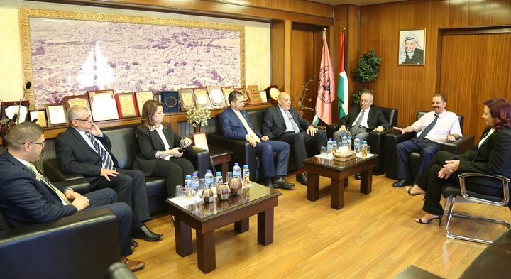 المدير العام لبنك القدس يبحث سبل التعاون المشترك مع جامعة النجاح الوطنية