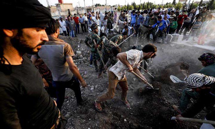 مقتل 29 مدنياً في غارات على مدينة الرقة في الـ24 ساعة الاخيرة
