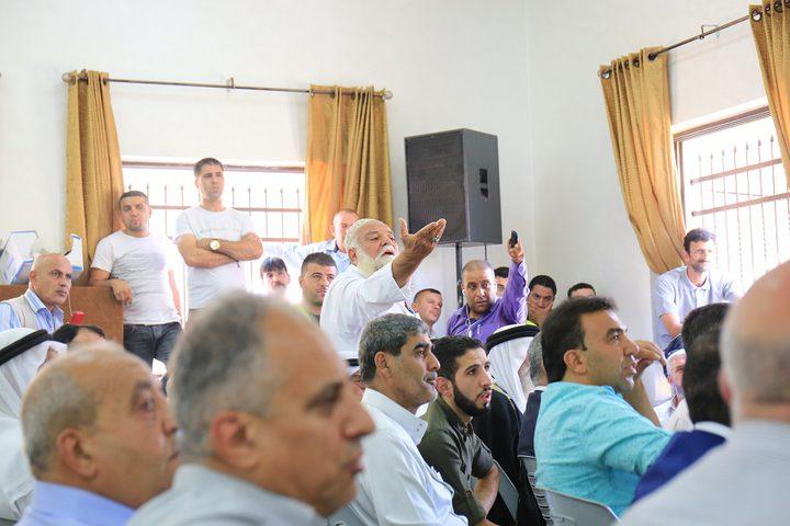 عطوة عشائرية بين آل الجعبري والنتشة في الخليل (فيديو)