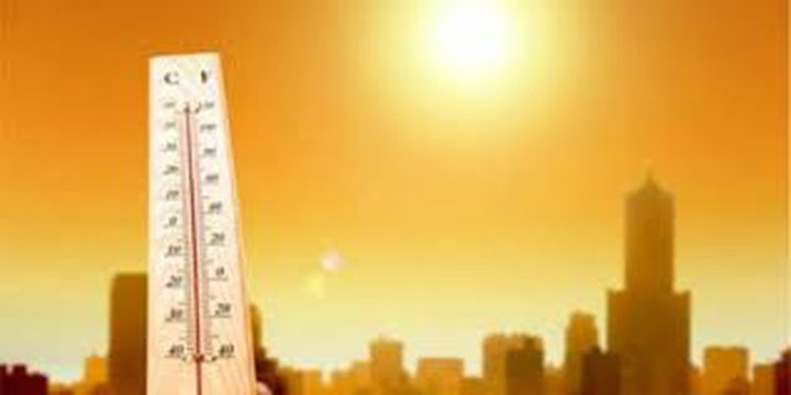 الطقس: توالي ارتفاع درجات الحرارة