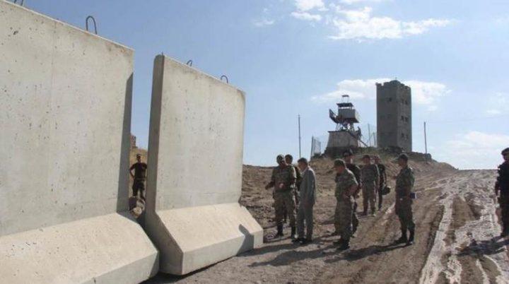 تركيا تشيد جدارا أمنيا على حدودها مع إيران