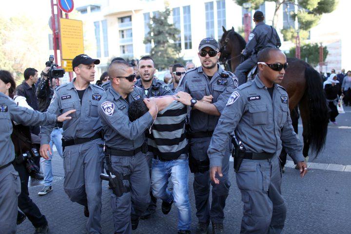 اعتقال 202 عامل فلسطيني في الداخل