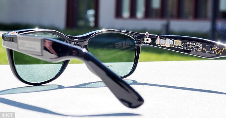 نظارات لشحن الهواتف الذكية !