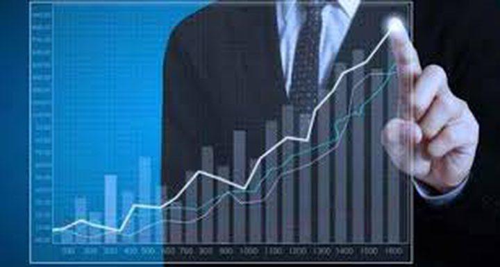 ارتفاع على مؤشر بورصة فلسطين بنسبة 0.54%