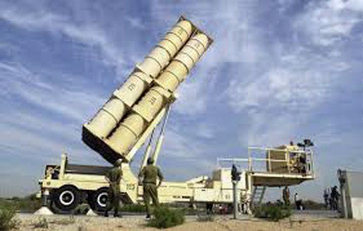 """الاحتلال يبدأ في تطوير صاروخ """"حيتس 4"""""""