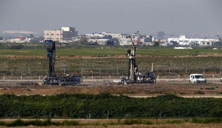 """كشف تفاصيل جديدة عن """"جدار غزة"""""""