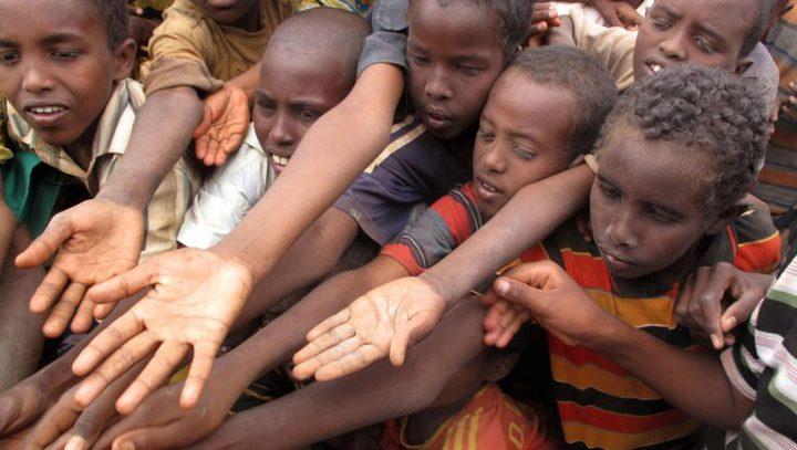 المجاعة تهدد 20 مليون شخص في أربع دول