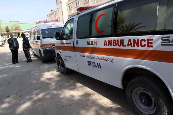 إصابات جراء انقلاب مركبة في نابلس(صور)