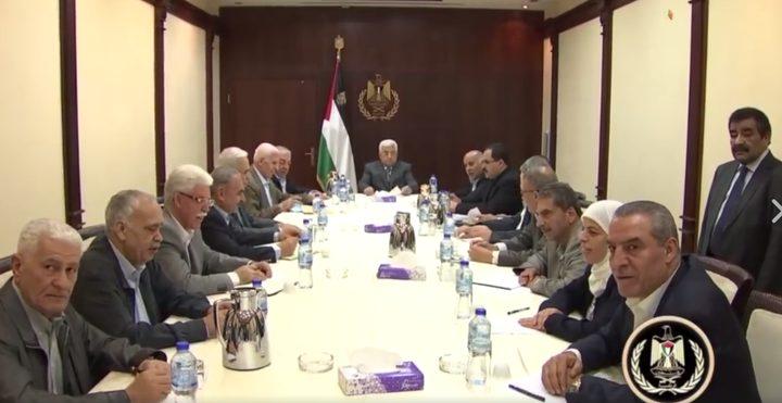 أبرز ملفات اجتماع اللجنة المركزية لحركة فتح