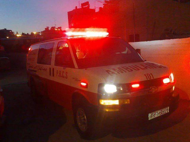 """21 إصابة جراء سقوط لعبة بأحد الملاهي في رام الله """"فيديو"""""""