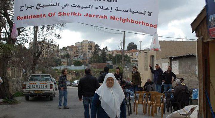 الإتحاد الاوروبي: على إسرائيل إعادة النظر في إخلاء عائلة شماسنة