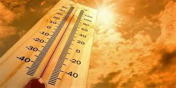 الطقس: أجواء حارة ودرجات الحرارة أعلى من معدلها بحدود 3 درجات