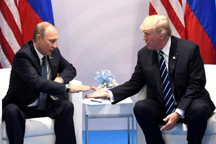 ترامب يشكر بوتين على طرد الدبلوماسيين الأمريكيين !