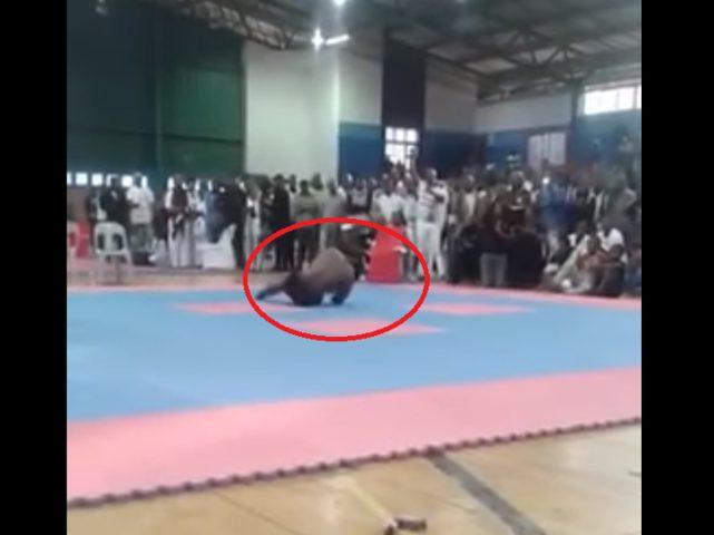 بطل كمال أجسام يلقى حتفه بعد كسر رقبته! (فيديو)