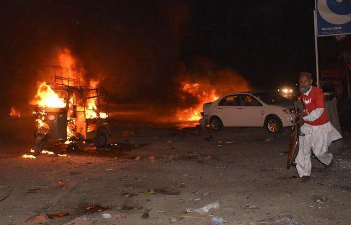 """(15) قتيلًا بانفجار في باكستان و"""" داعش"""" يتبنى"""