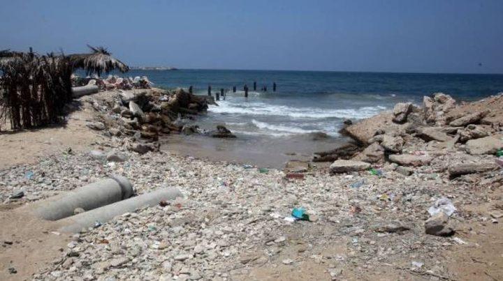 """""""الميزان"""": أول حالة وفاة يعتقد أنها نتيجة لتلوث مياه بحر قطاع غزة"""
