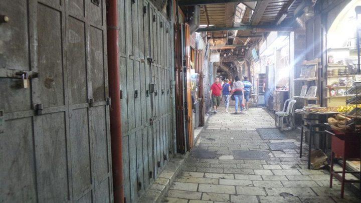 الاحتلال ينفذ حملة ضريبية بحق تجار القدس القديمة
