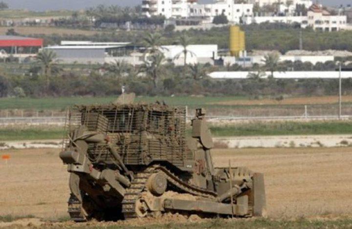 """الاحتلال يتوغل شرق البريج ويزيل تلة """"أم حسنية"""""""