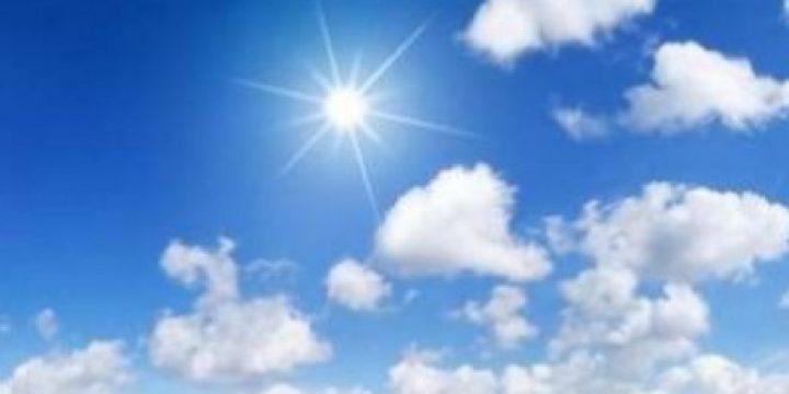 حالة الطقس: درجات الحرارة تبقى أعلى من معدلها بحدود 4 درجات