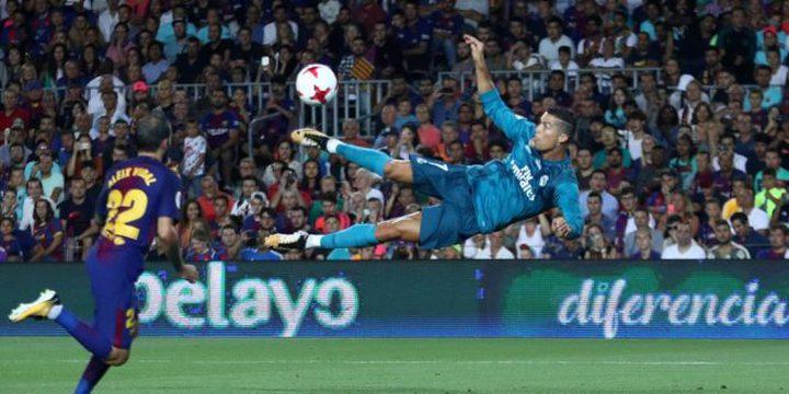 ريال مدريد يفوز على برشلونة بثلاثية في ذهاب كاس السوبر الاسبانية