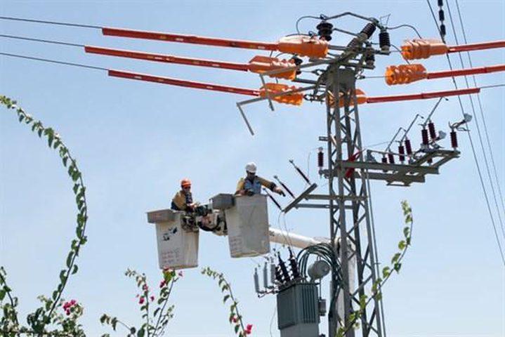 قطع التيار الكهربائي عن عدة مناطق بمحافظة رام الله