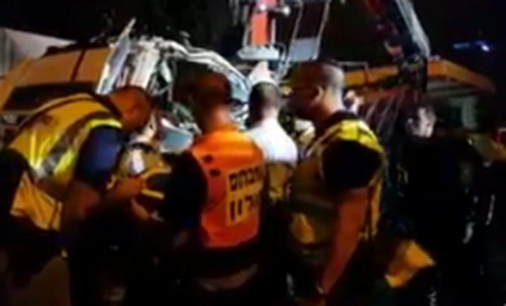 """انهيار جسر للمشاة على شارع للمستوطنين جنوب القدس""""فيديو"""""""