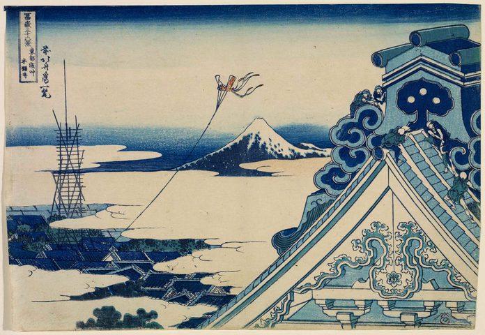 """""""الأوكيو إيه""""لوحات تقليدية نشرت الثقافة اليابانية"""