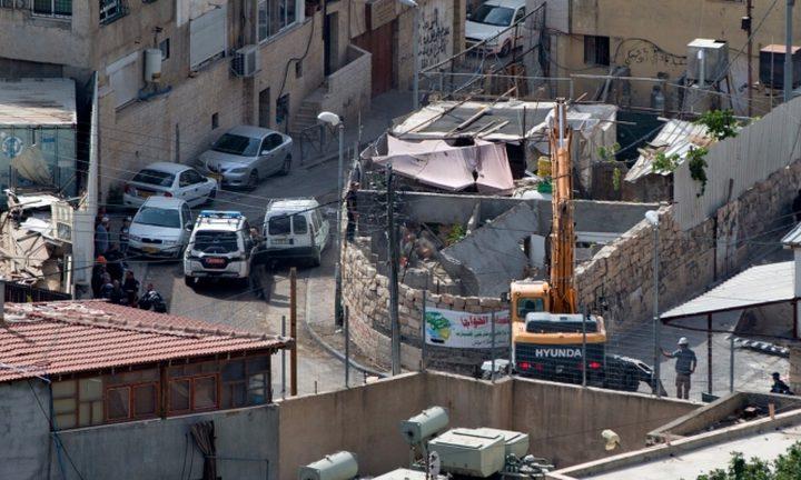 لجنة الدفاع عن سلوان تقرر الاعتصام أمام منزل هدمه الاحتلال