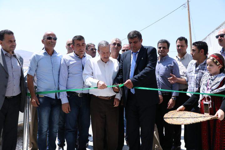 إفتتاح وحدة جديدة لتبريد الخضار في طوباس