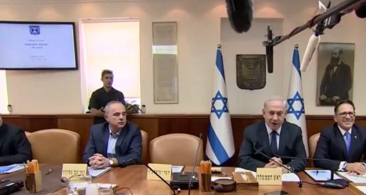 نتنياهو يسعى إلى الاستفراد بقرار اعلان الحرب على غزة