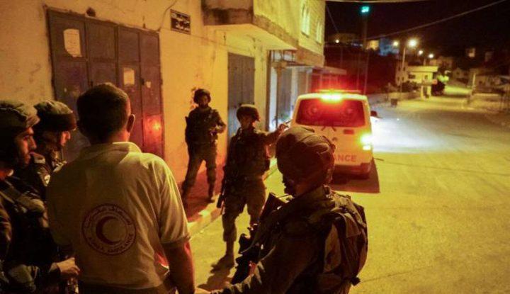 إصابة شاب برصاص الاحتلال واعتقال شقيقه في الدهيشة