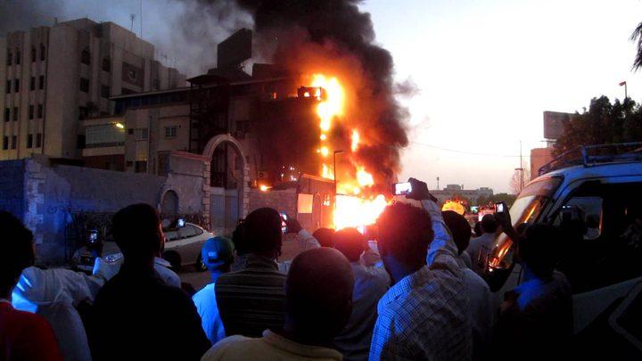 السيطرة على حريق في مطعم وسط مدينة جنين