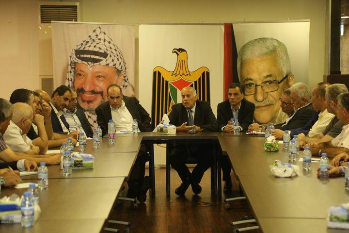 الرجوب يؤكد ضرورة تنظيم الرياضة الفلسطينية برؤية وطنية