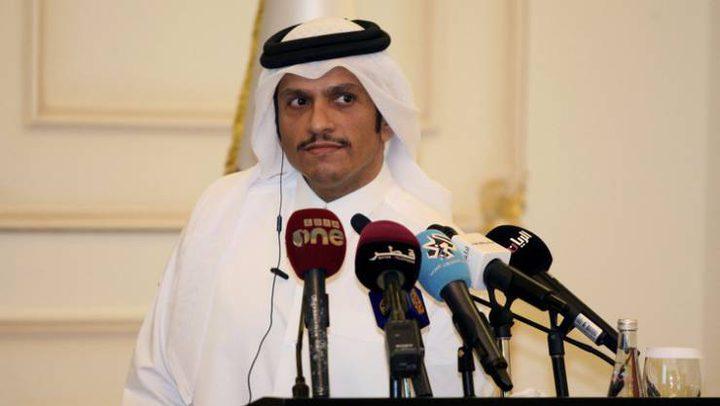 ماذا يفعل وزير خارجية قطر في الكويت ؟