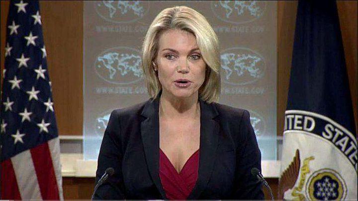 الخارجية الأميركية تؤكد انخراطها في مساعي السلام الفلسطينية الإسرائيلية