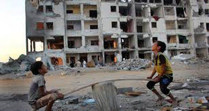 إعمار 133 مسكناوإصلاح 269 وحدة سكنية بغزة