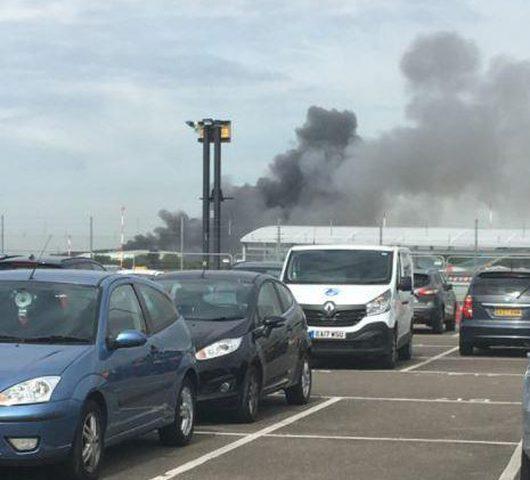 أنباء عن دوي انفجار قوي قرب مطار ساوثند في لندن