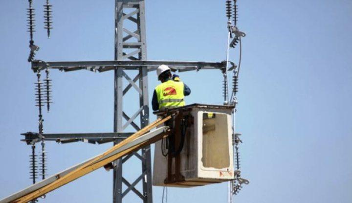 تشويشات على التيار الكهربائي في نابلس