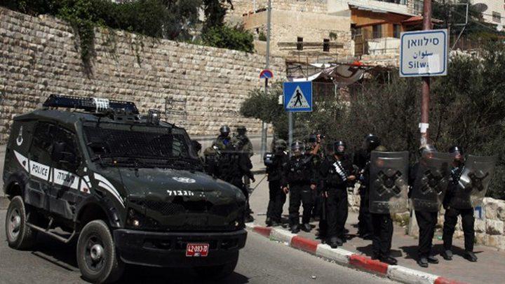 الاحتلال يعتقل ثلاثة شبان من سلوان