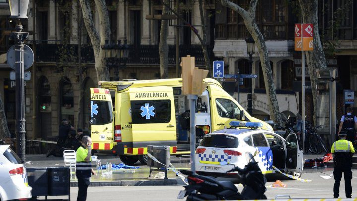 الحكومة تدين الهجوم الإرهابي في برشلونة