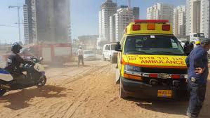 """مصرع عامل وإصابة اخر بالقرب من """"تل أبيب"""""""