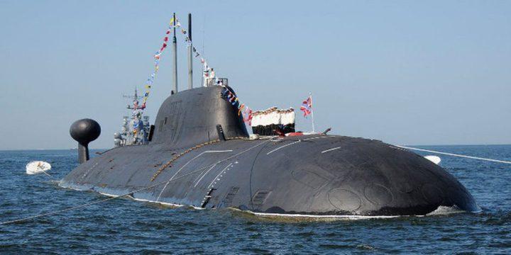 """غواصة نووية روسية تطلق صاروخ """"كاليبر"""" بنجاح"""