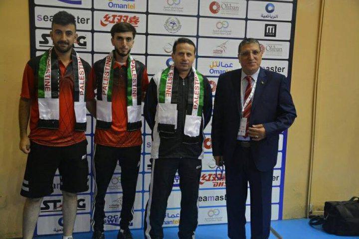 فلسطين تتأهل للدور الثاني من بطولة كأس العرب لكرة الطاولة