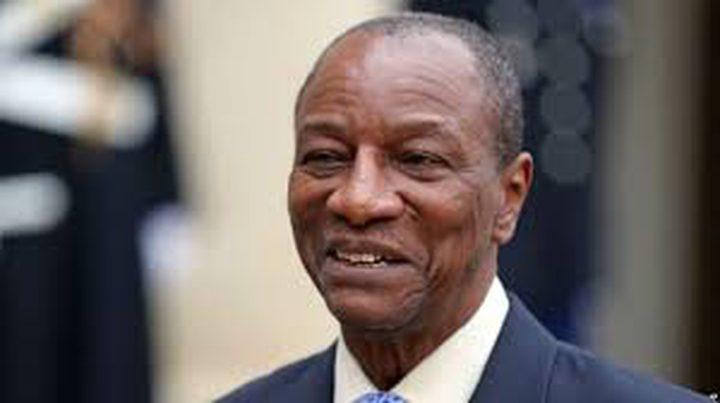 غينيا تؤكد دعمها لحقوق الشعب الفلسطيني وقضيته